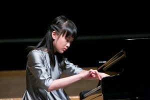 Xinyi Han. . Koncert w Sali Filharmonii Wrocławskiej w Narodowym Forum Muzyki / Concert in the Philharmonic Hall of the National Forum of Music 18.08.2018, Fot. A. Solnica.